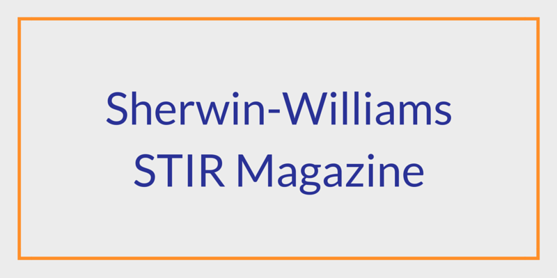Sherwin-Williams Stir Magazine