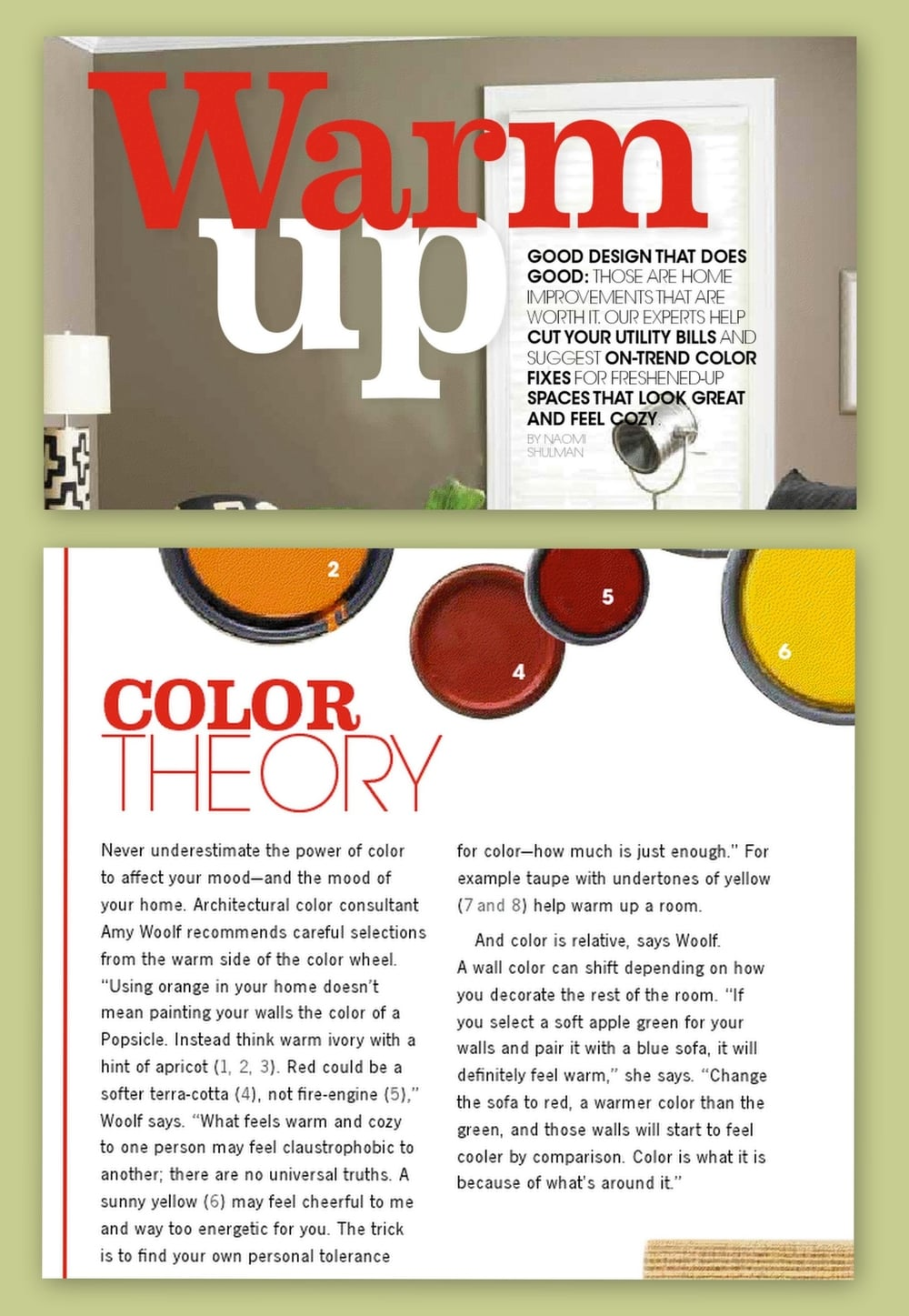 Warm Up with Paint Color - State Farm