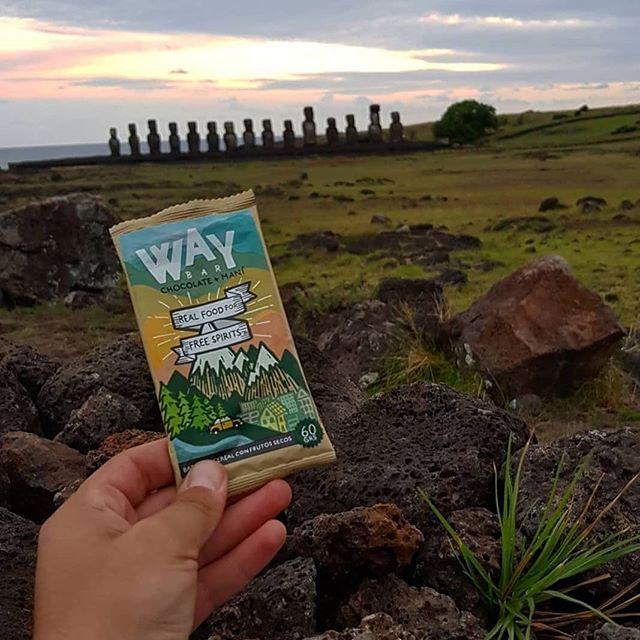 Way se va de vacaciones también, sube tu mejor foto con @thewildfoods y cuéntanos en que andas! Sortearemos 1 caja semanal durante todo febrero! #Repost @cristiangdlf ・・・ Apañando con @thewildfoods 🤙 . . . #island #beach #landscape #happy #summer #easterisland #moai #chile #beach #grass #sun #blue #sky #sunset #clouds #chile #picoftheday #instadaily #startup #food #valentines #happyvalentines #sanvalentin