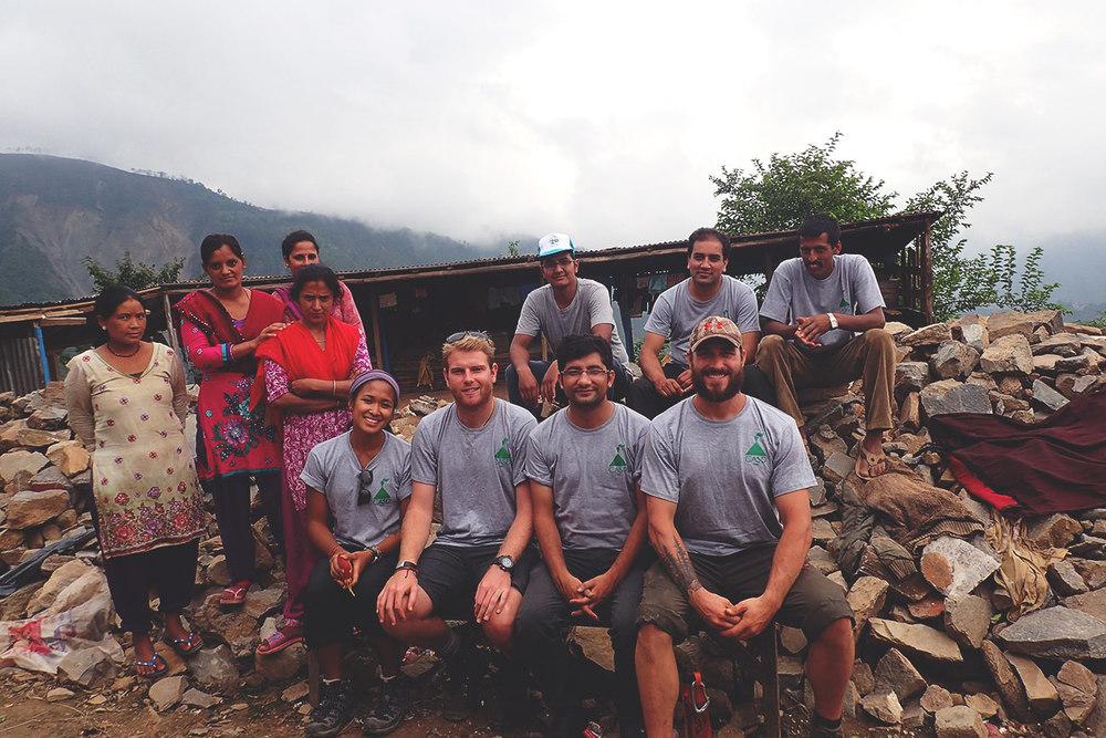 Part of the CASD-Nepal team