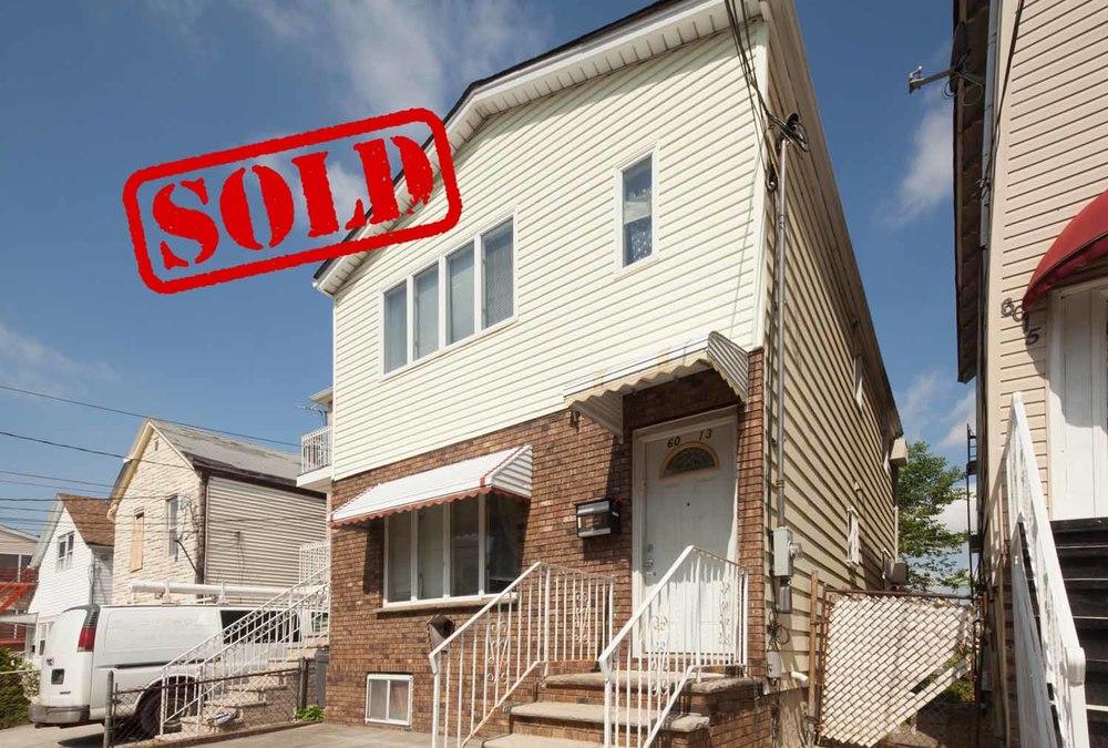 6013 jefferson street, west new york, nj - $220,000 // sold