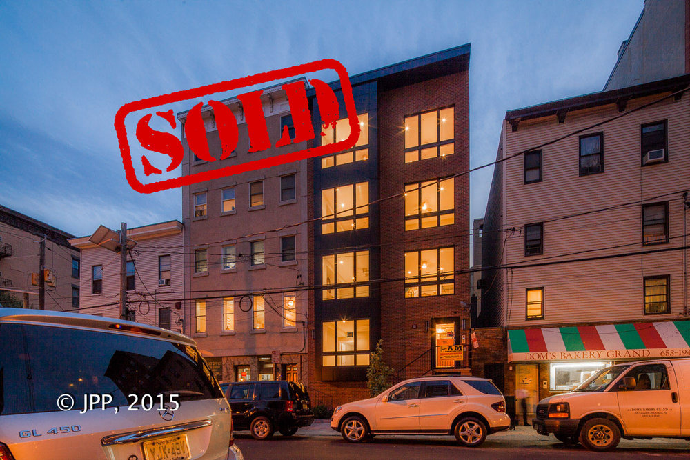 504 grand street unit 2, hoboken nj - $947,500 // sold