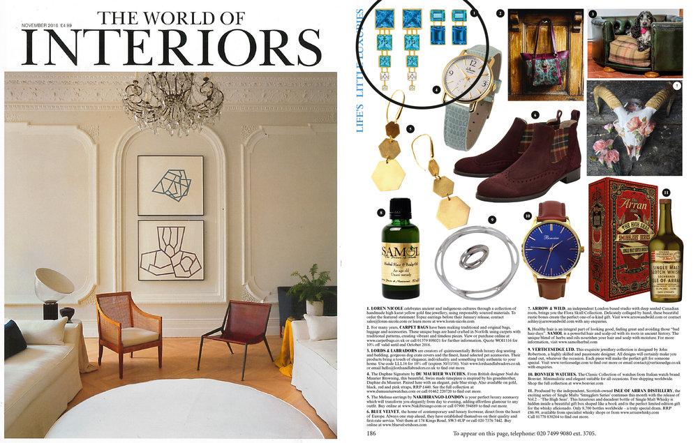 GQ The World of Interiors: November 2016
