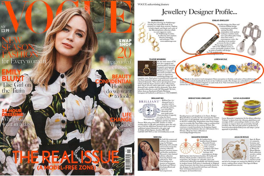British Vogue: November 2016