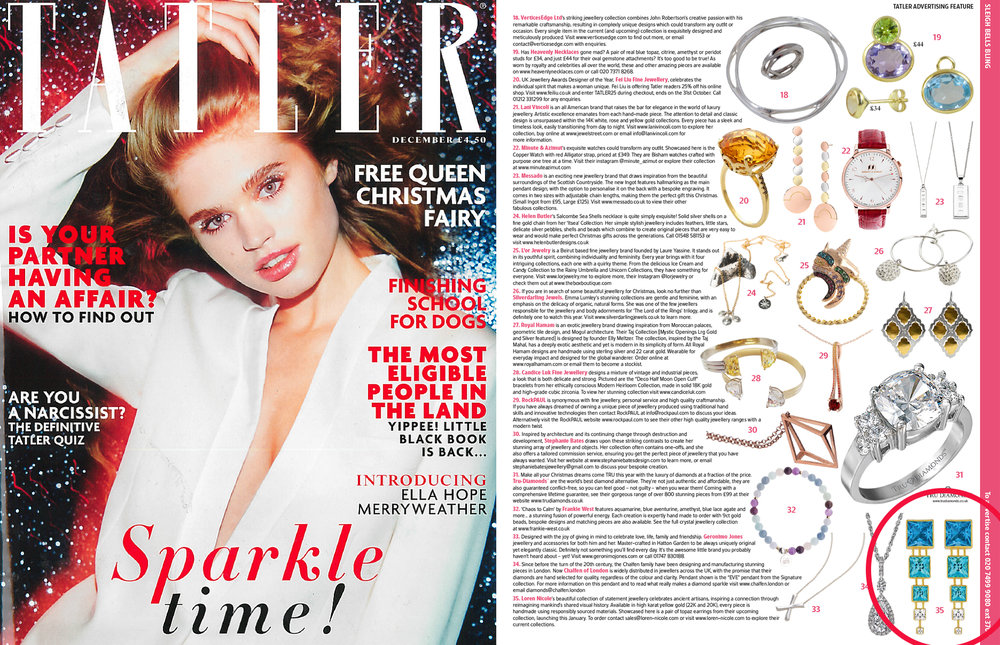 Tatler UK: December 2016