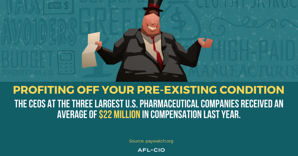 AFL-CIO's New CEO Paywatch Report -
