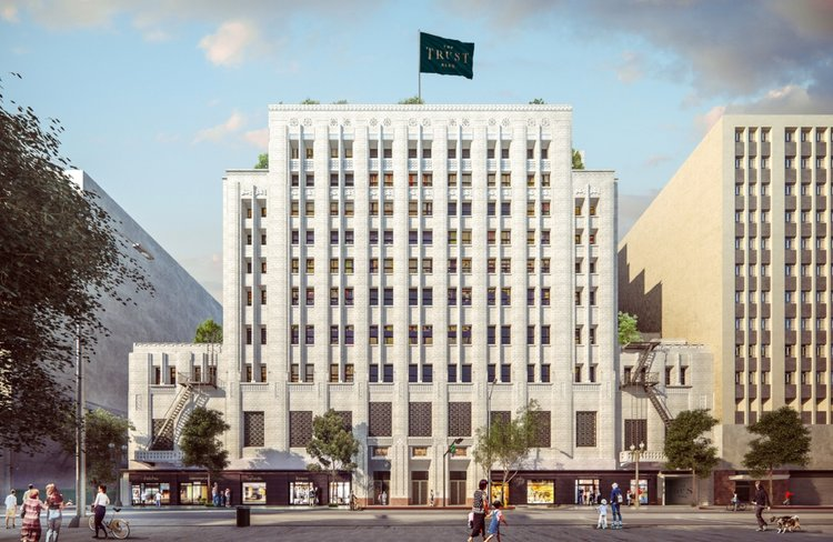 The Trust Building, Downtown Los Angeles Coming Summer 2018