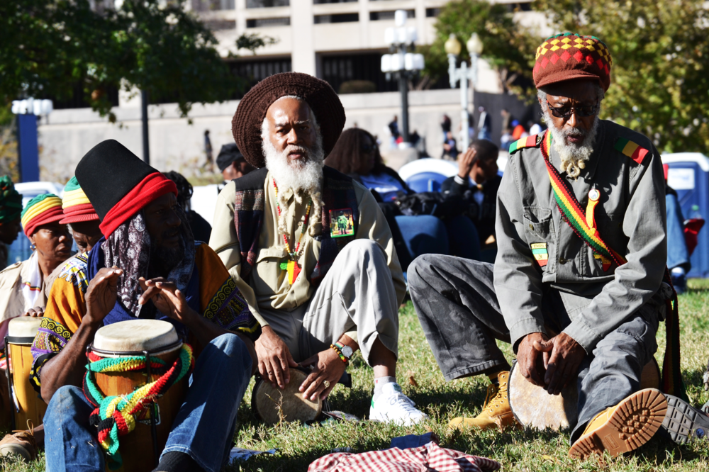 million man march dc aliana grace bailey black lives matter drum circle.png
