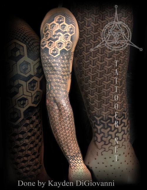 Dotwork & Geometric — Tattooer.net