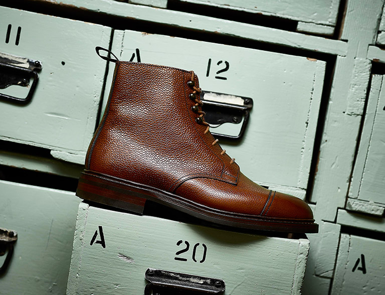 Product and Advertising Photography for British brand Crockett & Jones