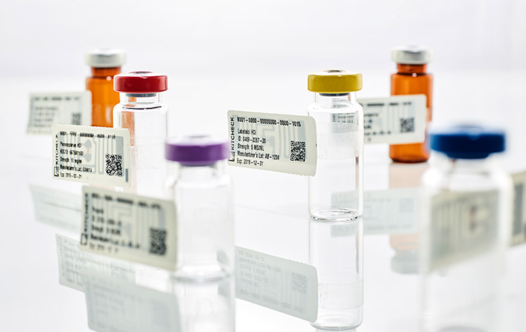 RFID labelling technology for medical supplies.