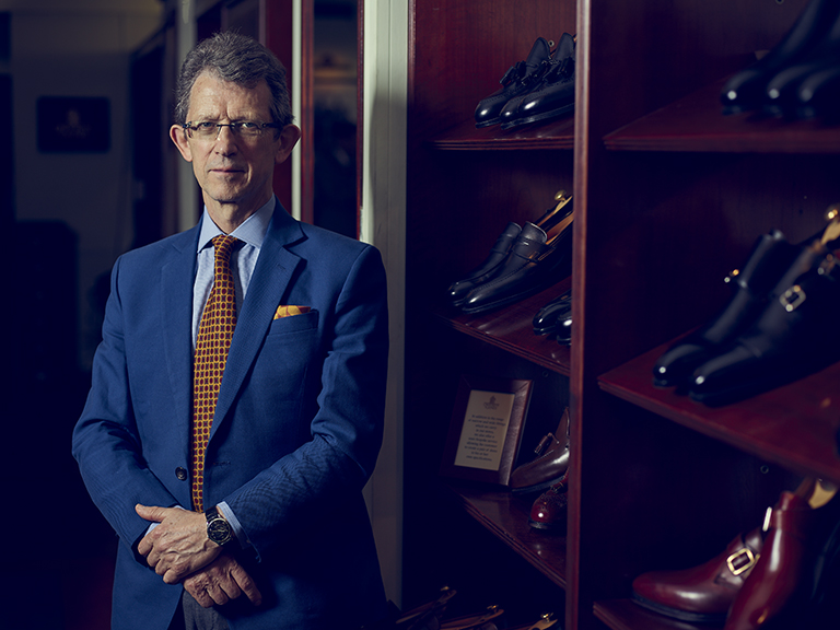 Jonathan Jones, Managing Director, Crockett and Jones.