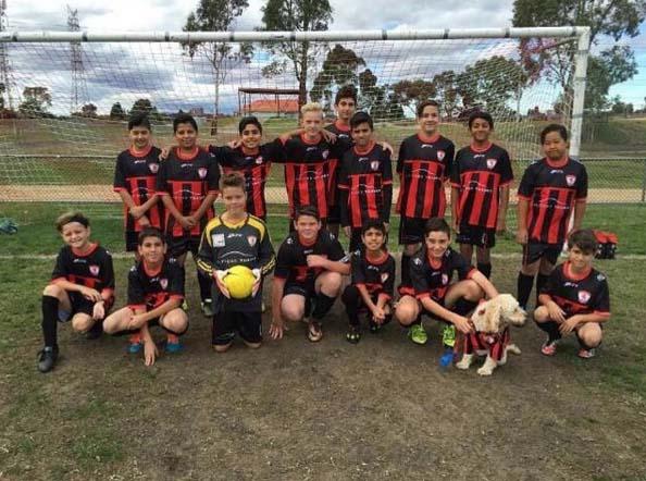 Under 13s Squad