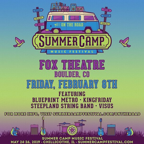 STOKED to get a shot at @summercampfest this year at @foxtheatreco !! We need everyone on this one. KingFriday's court ASSEMBLE!