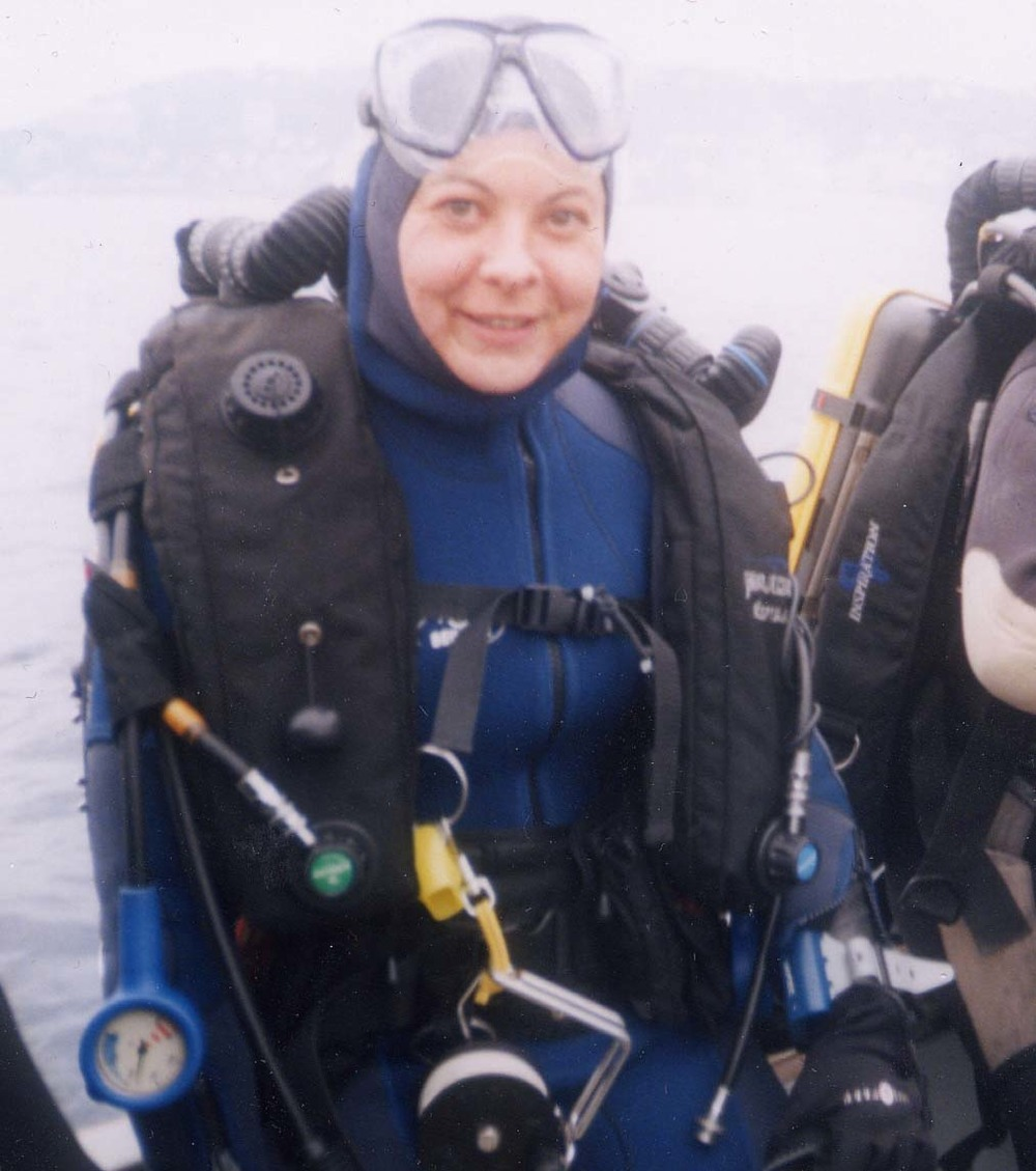 Florence rebreather qualified