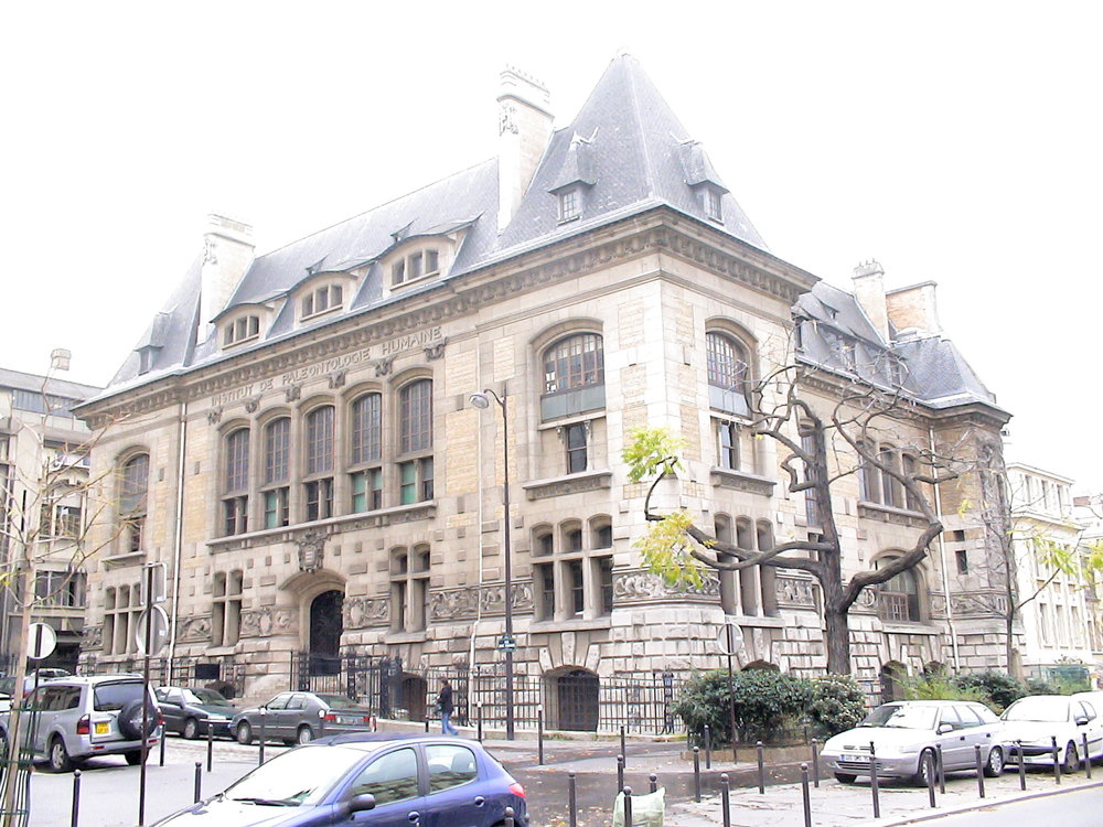 ADMAT-FRANCE's office which is in   the    Institut de Paléontologie Humaine  , 1, rue René Panhard 75013. Paris. France.