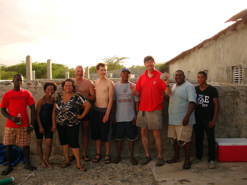 The May 2013 Team who surveyed The Tile Wreck