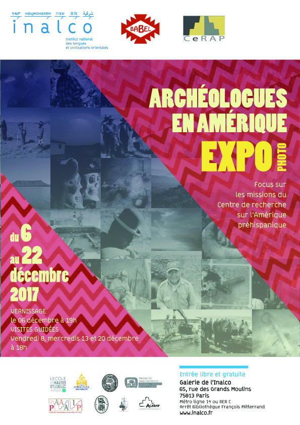The poster for the special exhibit clearly showing ADMAT's maritime archaeological work. This work is undertaken for ONPCS and the Ministry of Culture as well as the Ministerio de Medio Ambiente y Recursos Naturales for the government of the Dominican Republic