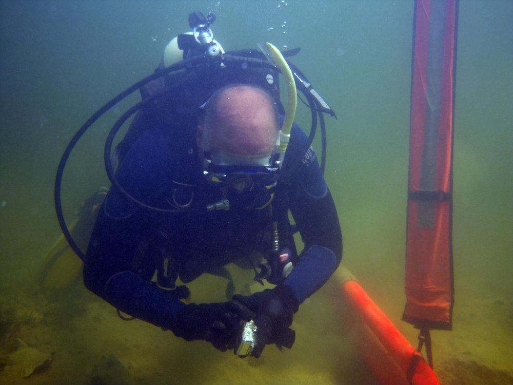 Raimund Krob on   The Tile Wreck   in 2013
