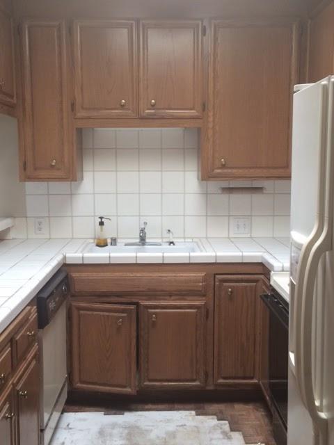 Quartz Kitchen Counter ! Before & After Kitchen Remodel ... on