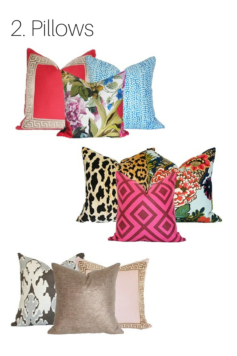 Pillows from  Arianna Belle