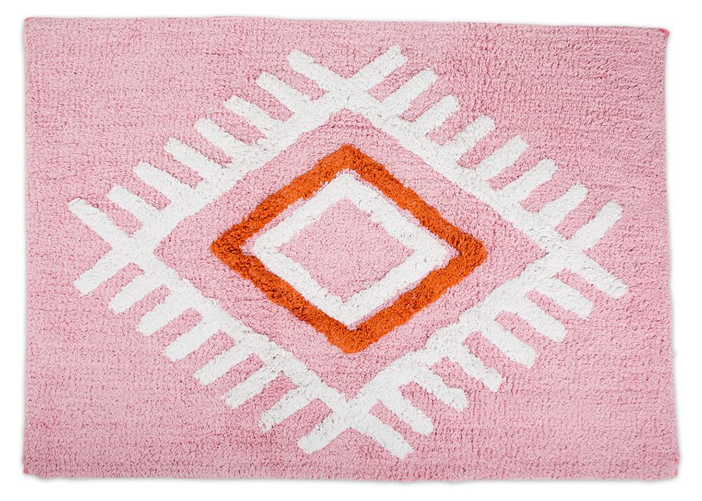 Tribal Bath Mat; $60, available at  Furbish Studio .