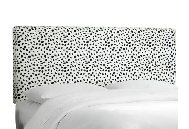 Macy Spotted Headboard Black/White  $239-$329