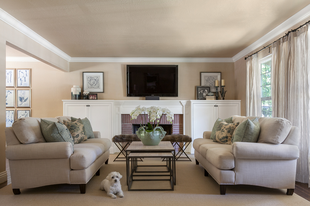 A Traditional Living Room Fixer Upper Style Interior Design