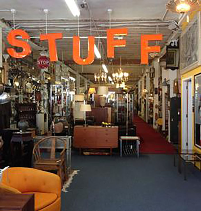 Stuff.  150 Valencia, San Francisco, CA