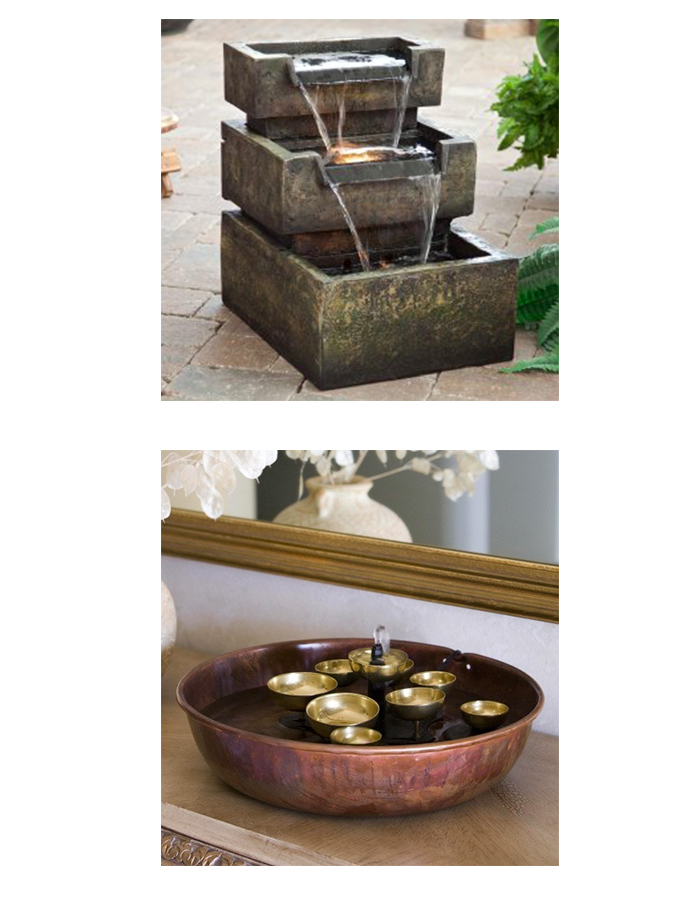 Water features via Wayfair.com