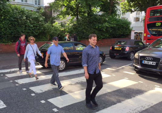 Abbey Road.  London.  June 2016.