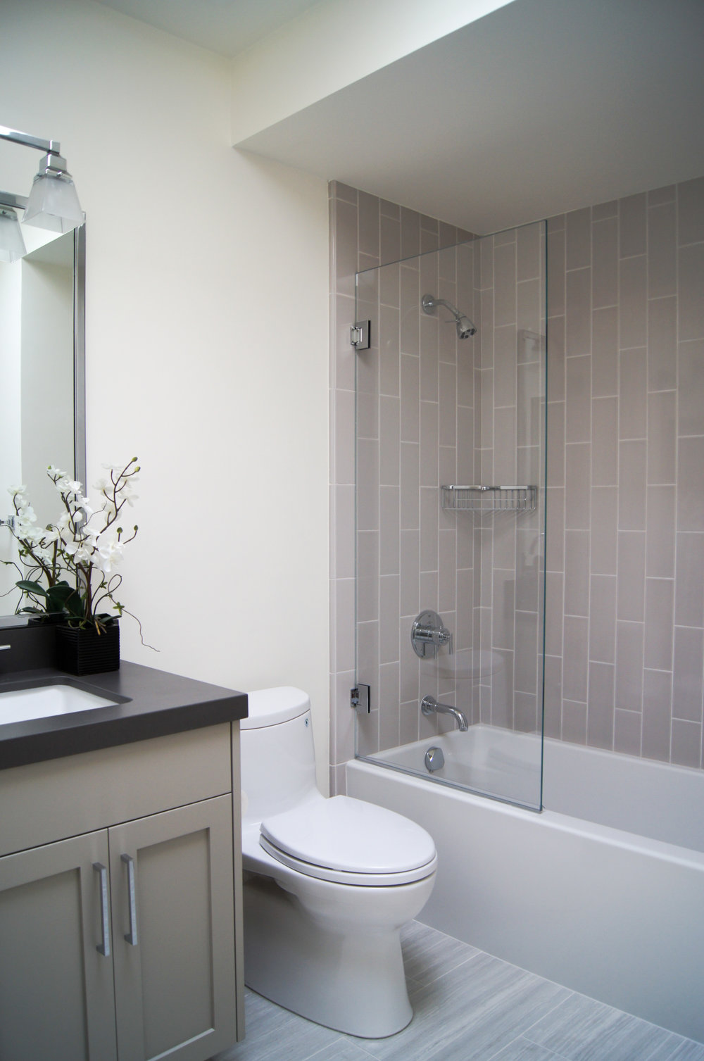 SF Bath Remodel.  Design by Price Style and Design