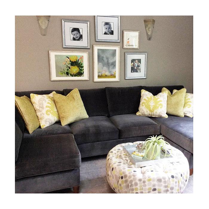 A Cozy Family Room Interior Design Interior Designer Lafayette