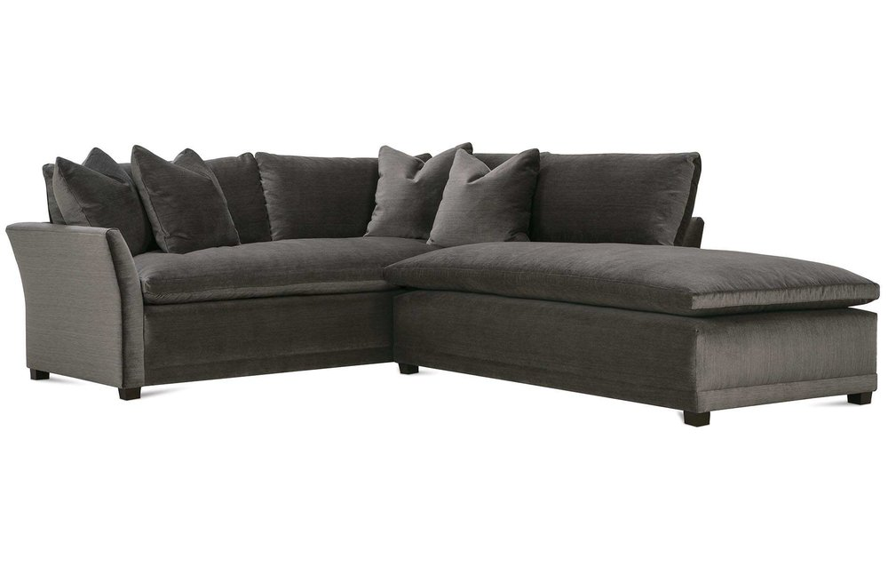 Sectional by  Robin Bruce .  Additional fabric options are available and can be seen in my studio.