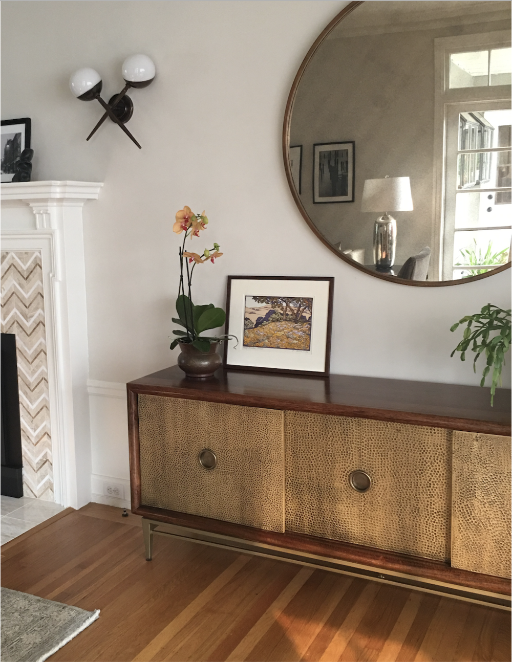 Interior Design Bay Area Before and After Living Room