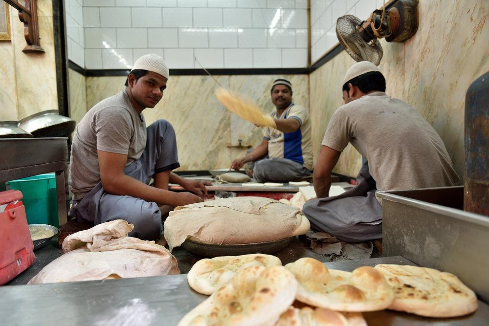 The making of tandoori roti, (Culinary Trail Guided by a Food Sherpa, ITC Maurya) 2.jpg