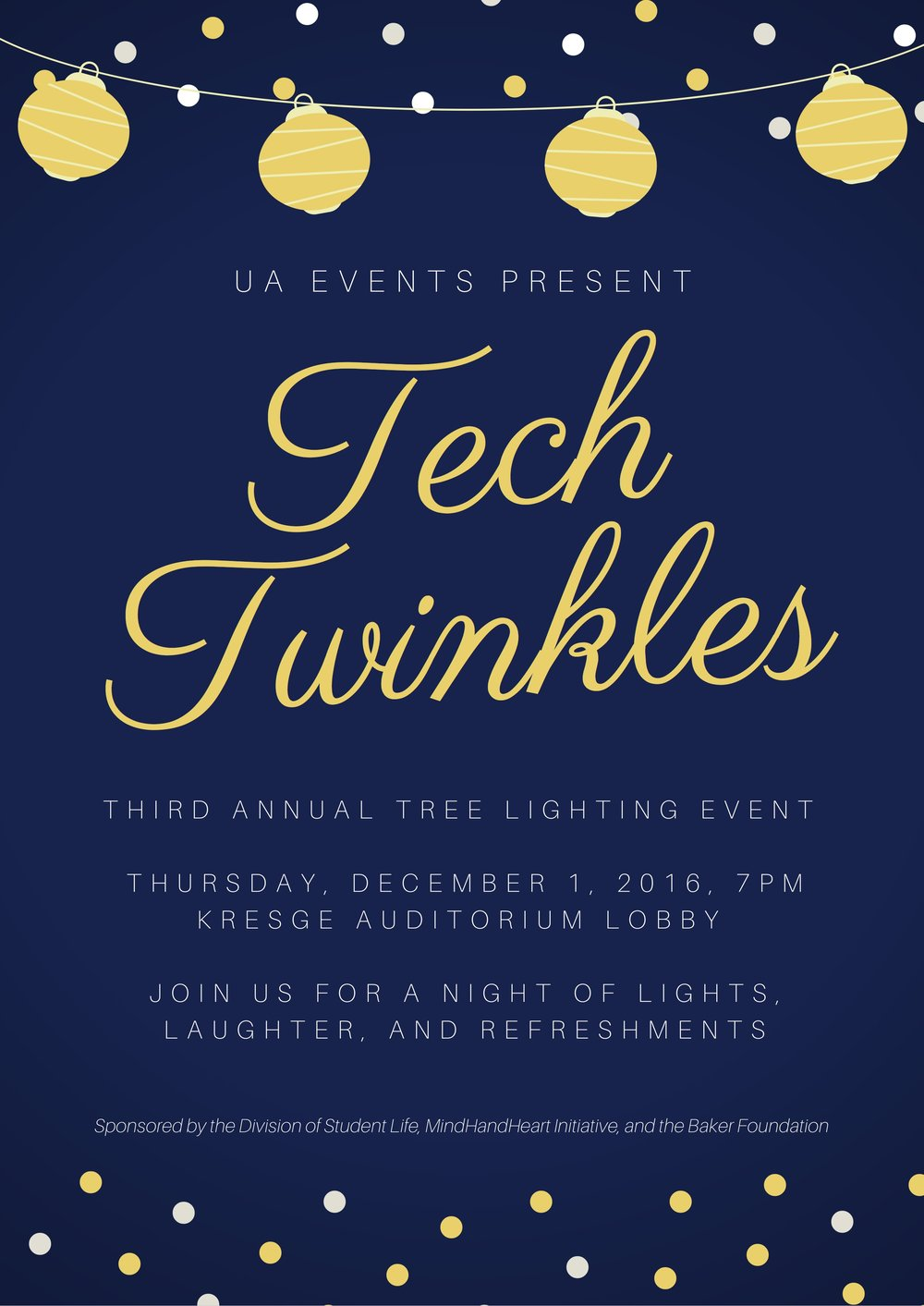 The 2016 Tech Twinkles Tree Lighting Celebration