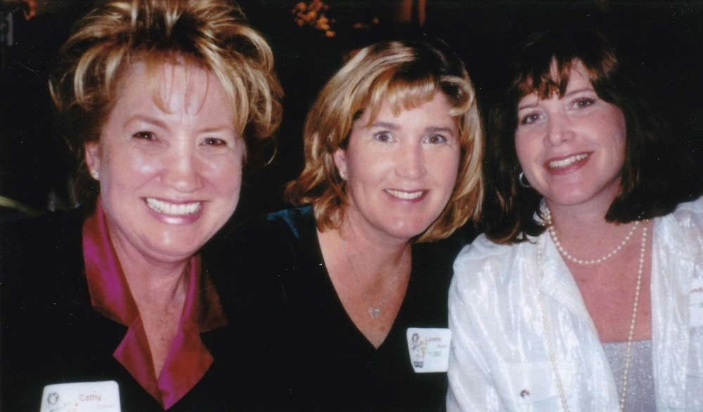 My mom, me and my sister at a San Diego Children's Hospital Fundraiser in the 90's
