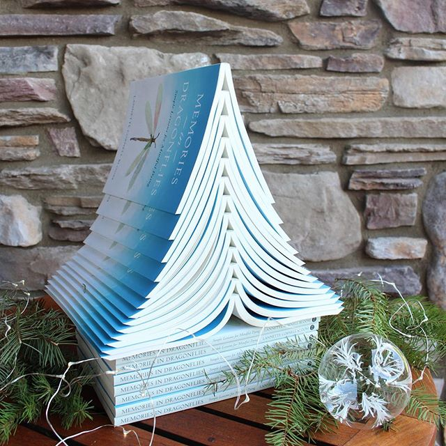 Happy holidays and Merry Christmas 💫 I hope you are all having a day filled with family, friends, fun, food and of course, joy!  _ #joyissimple #simplejoys #happyholidays #merrychristmas #booktree #memoir #memoriesindragonflies #mybook