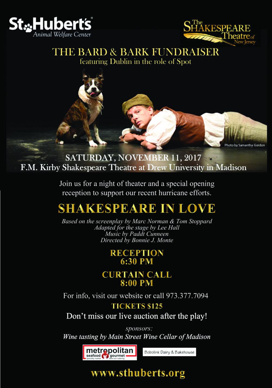 Shakespeare Event eblast