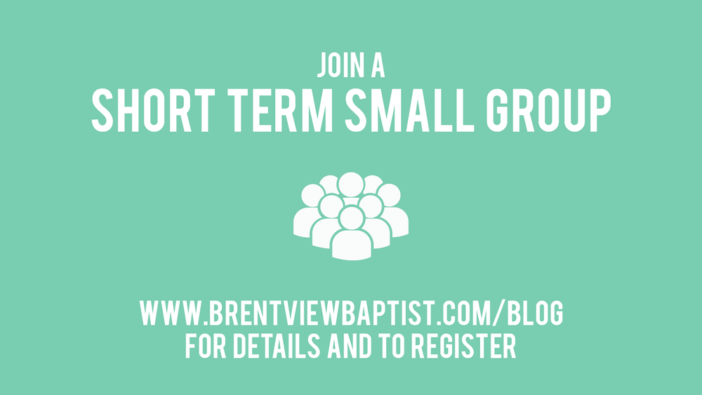 short term small groups