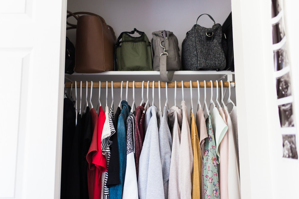 Similar to the next item, I used the KonMari method to reduce the amount of clothing I have. Laundry is easier. I like what I have, so I wear it all. It's amazing how much you actually don't need.