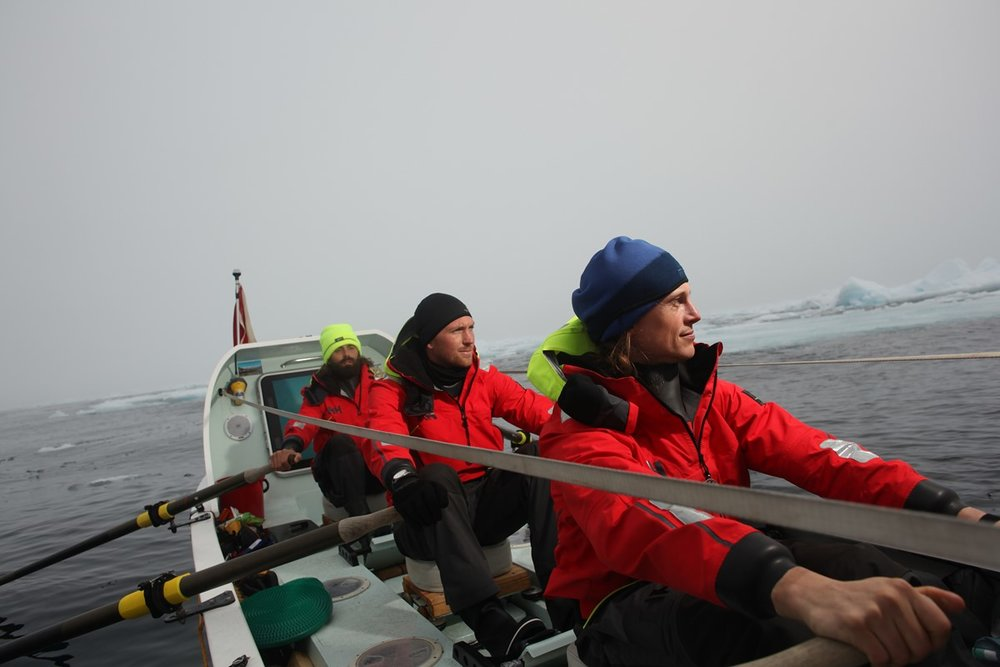 Fiann Paul ocean rowing aboard Polar Row reached Arctic Ice Pack 79'55N.jpg