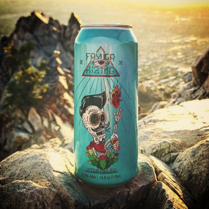 Fayuca Rizing - Extra Pale Ale   Ranked the #56 best beer in the world and #3 best American Pale Ale by Beer Connoisseur