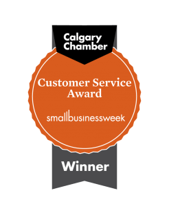 Calgary Chamber Customer Service Award Winner