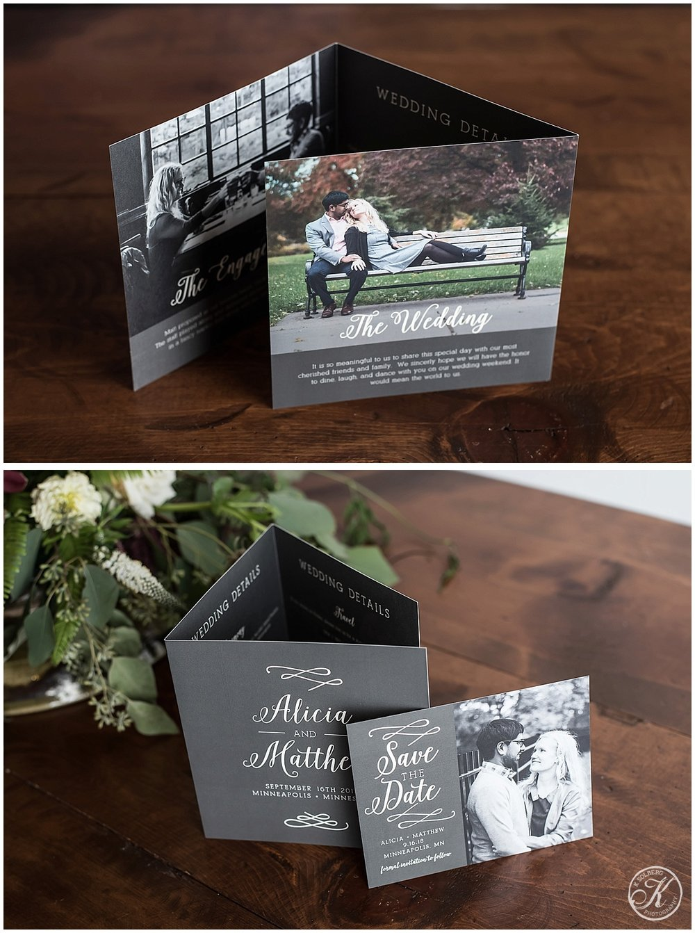 K Solberg Photography Basic Invite Samples
