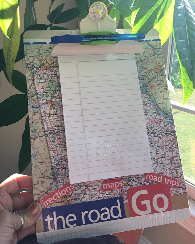 Pure Love Blooms has clipboards!  #map #atlas  Pick your state! #original #pen #notepad #upcycle #recycle #ecofriendly #cool  #handmade #custom #unique #fun #gift