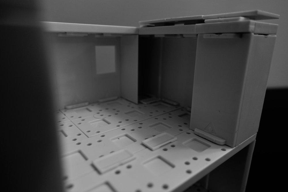 Iso-view closet