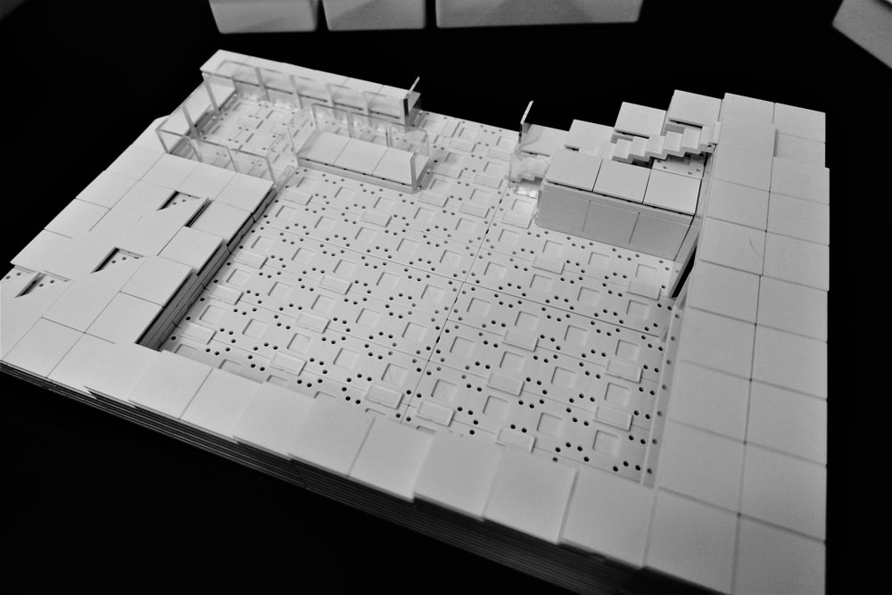 Model of the Cut and Fill.