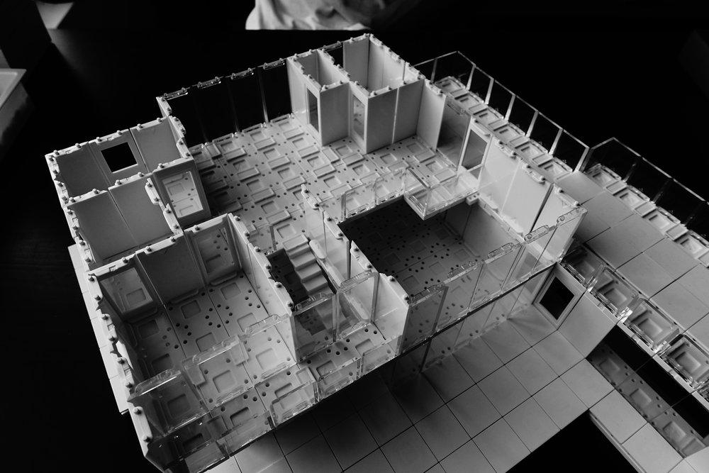 Second Floor Plan - Master Bedroom View